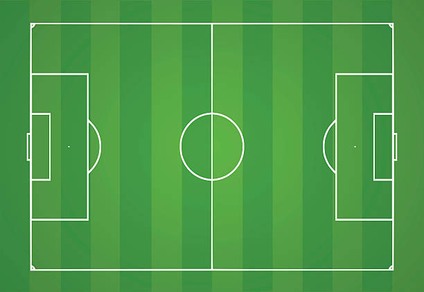 Football Pitch Clipart