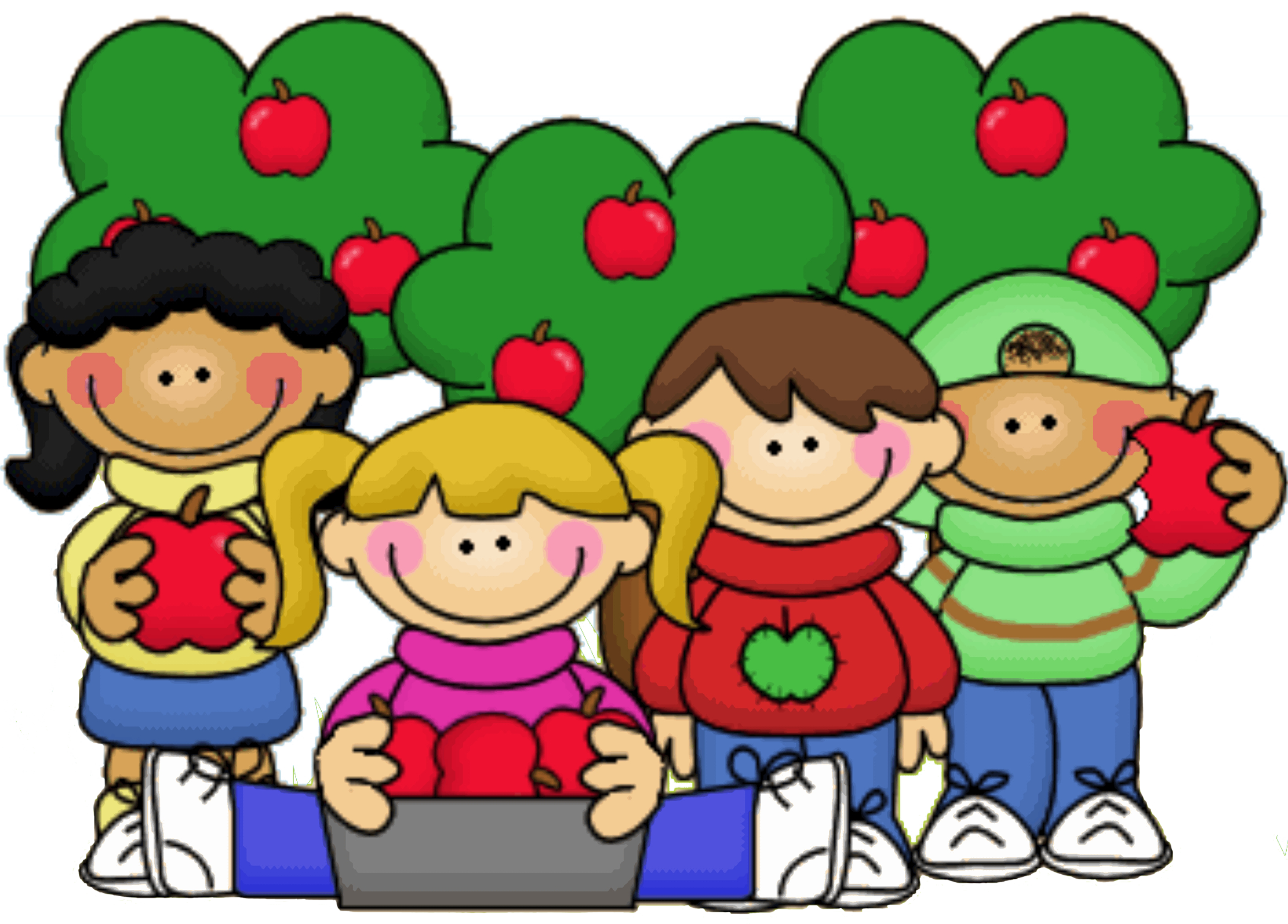 Free clipart apple picking png stock Apple Orchard Clipart at GetDrawings.com | Free for personal use ... png stock