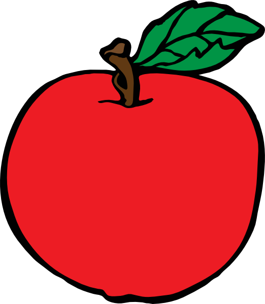 Apple in half clipart graphic transparent stock Apple Clipart Cartoon graphic transparent stock