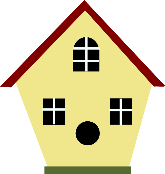 A frame house clipart clipart free download Bird House Clipart Image Group (66+) clipart free download