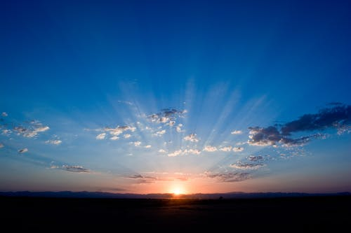 A fresh start sun rise clipart