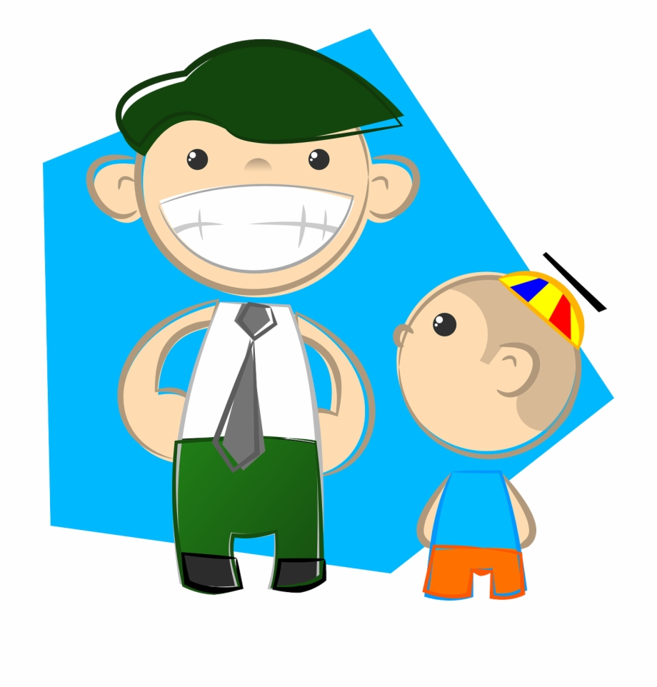 A fun dad clipart jpg freeuse download Dad Father Son Happy Fun Png Image - Dad And Son Clipart ... jpg freeuse download