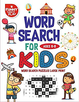 A fun place to play and learn clipart png library Word Search for Kids Ages 6-8: Word Search Games ( Word Search Large ... png library