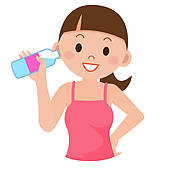 Water clipart girl picture free library Free Girl Drinking Cliparts, Download Free Clip Art, Free Clip Art ... picture free library