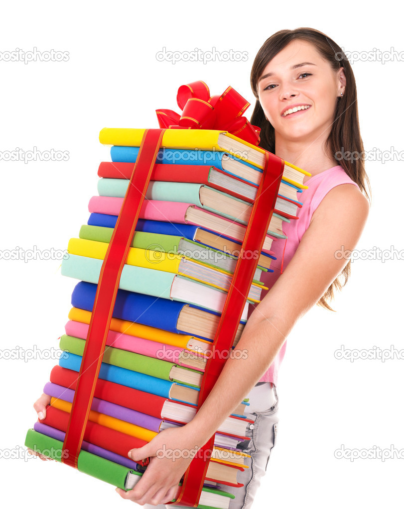 A girl holding a book jpg free download A girl holding a book - ClipartFest jpg free download