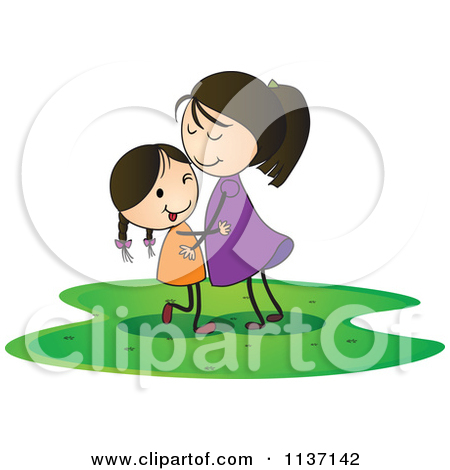 Girl hugging a blanket clipart - ClipartFox vector free library