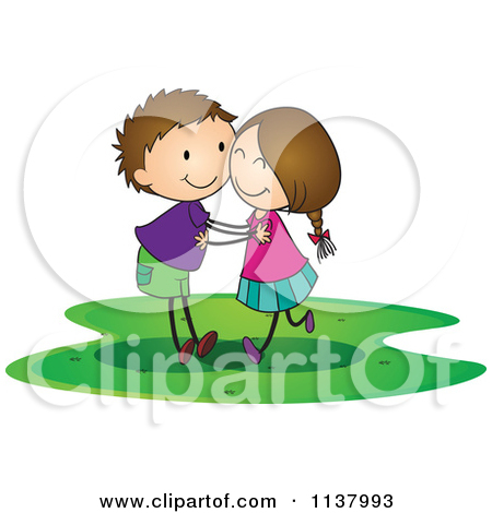 Girls Hugging Clipart - Clipart Kid svg black and white library