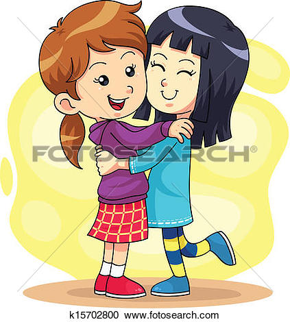 Clip Art of Hugs and Kisses k9240318 - Search Clipart ... picture free