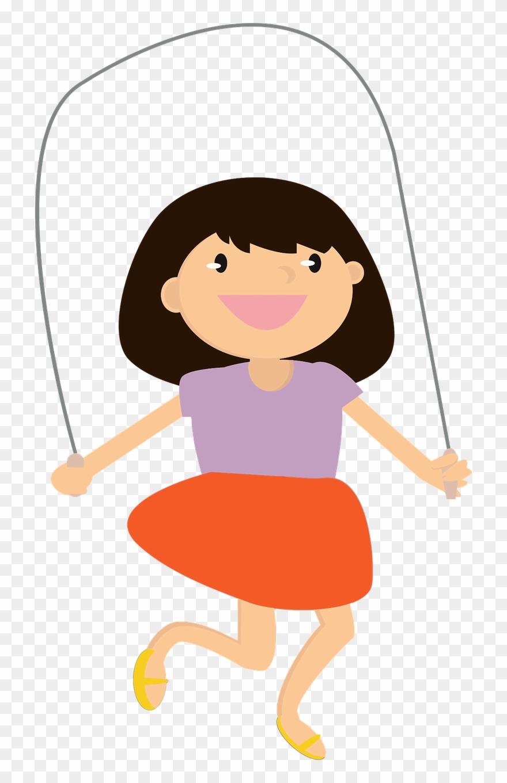 Woman jump rope clipart image stock Jump Ropes Jumping Sports Climbing - Cartoon Girl Jump Roping ... image stock