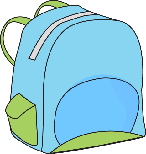 Backpack and materials school clipart png stock Backpacks Clipart | Free download best Backpacks Clipart on ... png stock