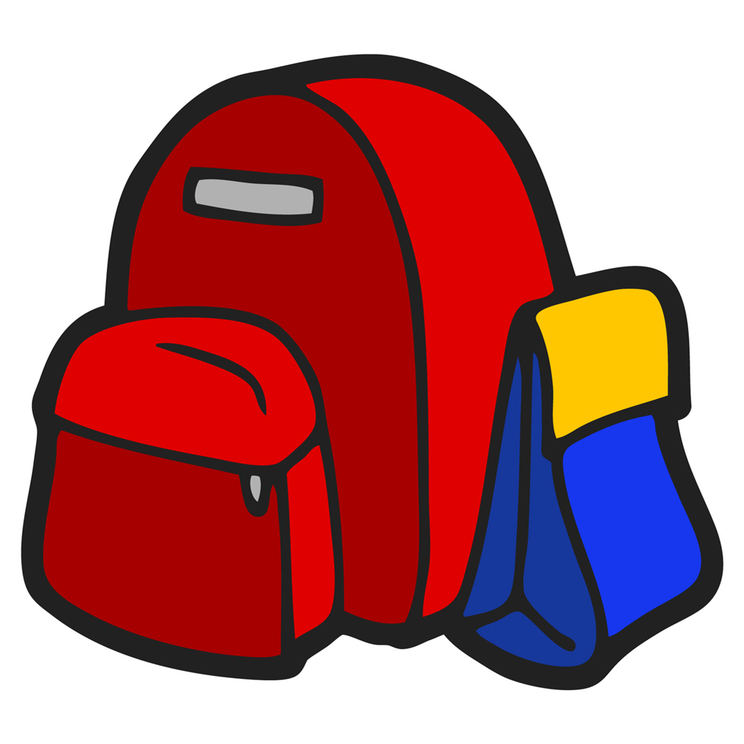 A girl kindergaten put her bookbag on her back cliparts vector royalty free Backpacks Clipart | Free download best Backpacks Clipart on ... vector royalty free