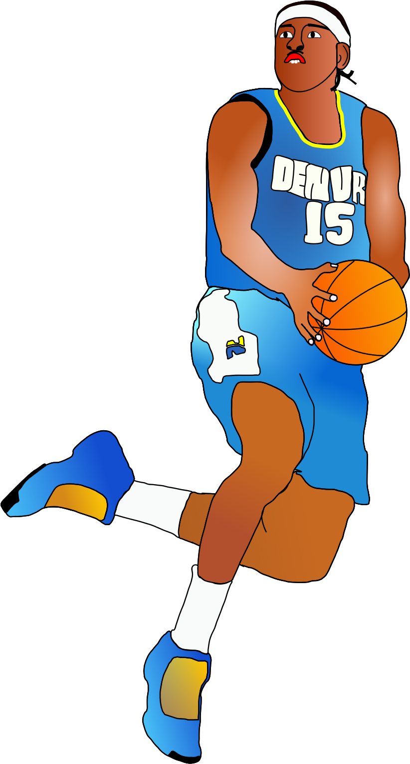 Basketball player clipart png graphic library library 28+ Collection of Basketball Players Clipart Png | High quality ... graphic library library