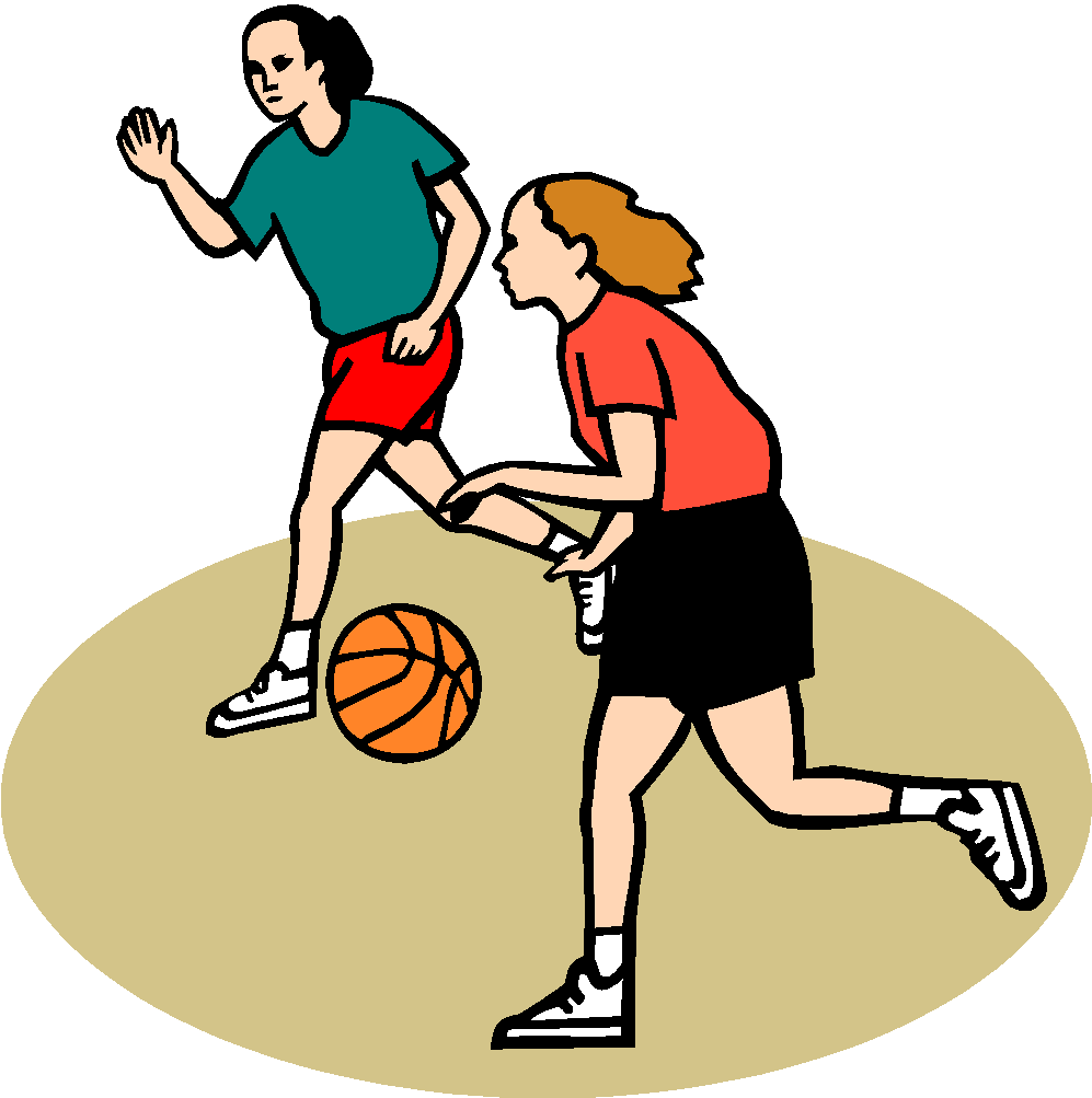 Basketball team with coaches clipart image free library Basketball - Girls | Deerfield High School image free library