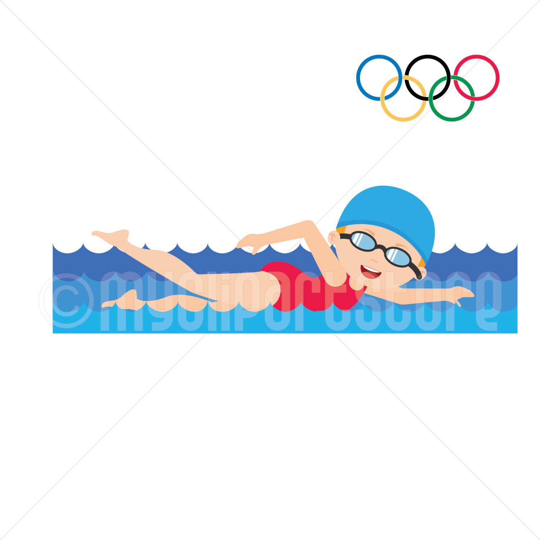 Female swimmer clipart banner transparent stock Girl Swimmer Clipart | Free download best Girl Swimmer Clipart on ... banner transparent stock
