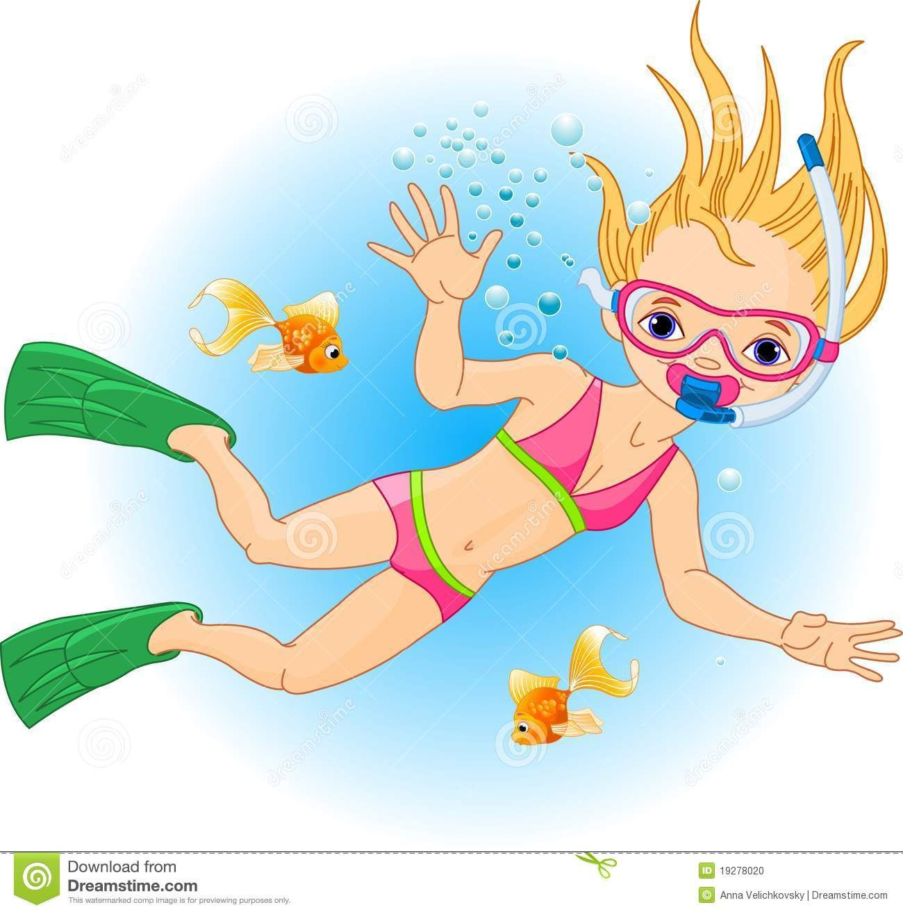 Cartoon people swiming clipart clip free download Swimming clipart girl - ClipartFest | Coconut swim goggles | Girls ... clip free download