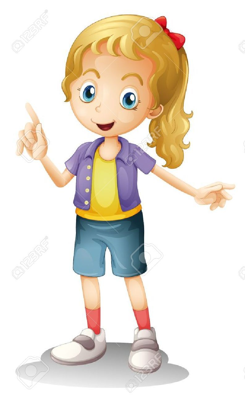 A girl talking clipart picture freeuse Talking girl clipart 4 » Clipart Portal picture freeuse