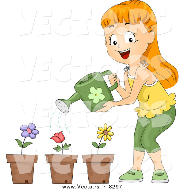 A girl watering plants clipart svg transparent download Girl watering plants clipart 2 » Clipart Station svg transparent download
