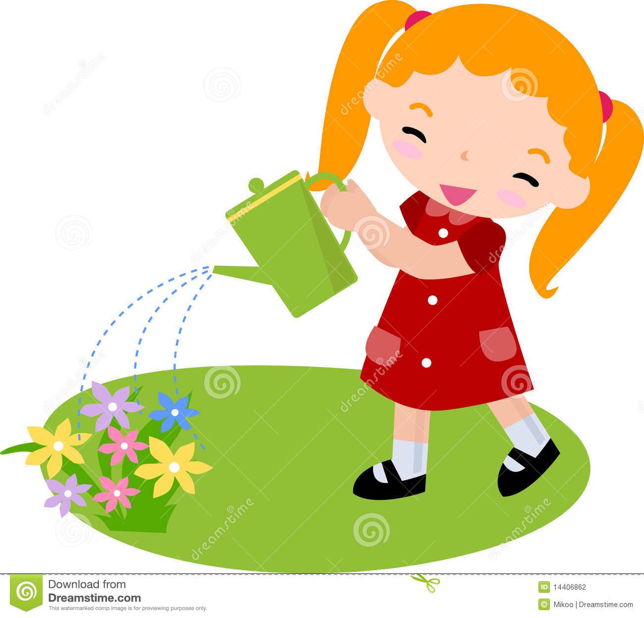 Watering gems clipart download Girl watering plants clipart 1 » Clipart Station download