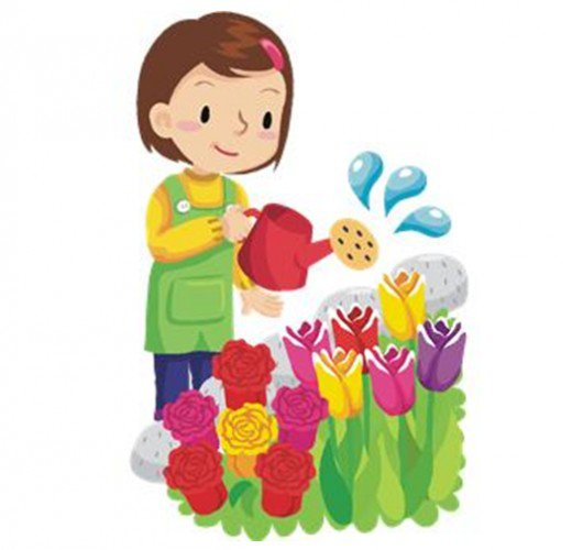 Cliparts planting flowers vector free download Free Watering Plants Cliparts, Download Free Clip Art, Free Clip Art ... vector free download