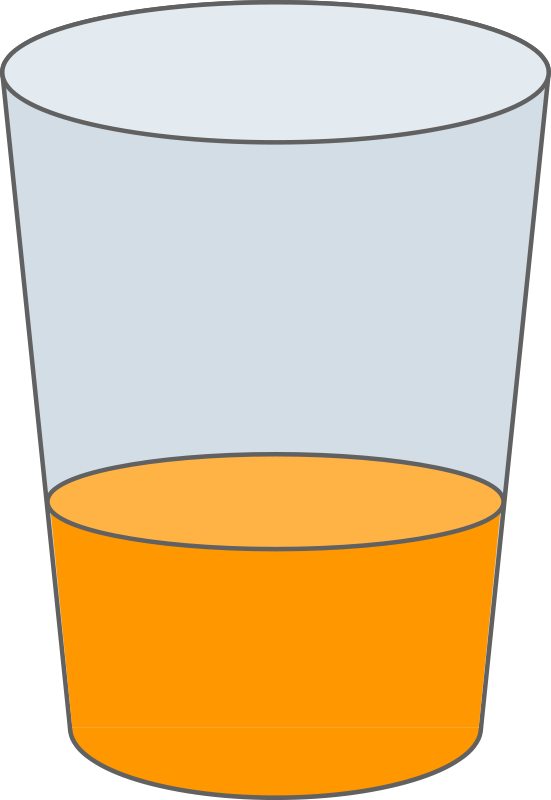 A glass of juice clipart clipart royalty free stock Free Clipart: Oranje Juice Glass SVG | qubodup clipart royalty free stock