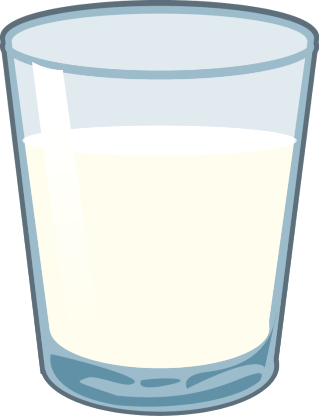 A glass of milk clipart image black and white library A Glass of Milk | Clipart Panda - Free Clipart Images image black and white library