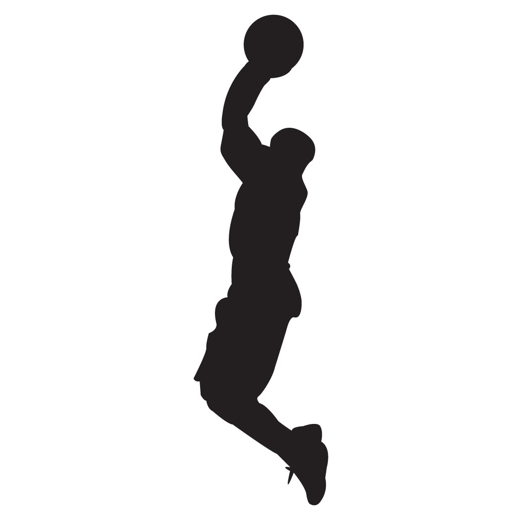 A guy shooting hoops clipart jpg black and white library Free Basketball Shooter Cliparts, Download Free Clip Art, Free Clip ... jpg black and white library