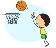 A guy shooting hoops clipart svg freeuse library Search Results for basketball - Clip Art - Pictures - Graphics ... svg freeuse library