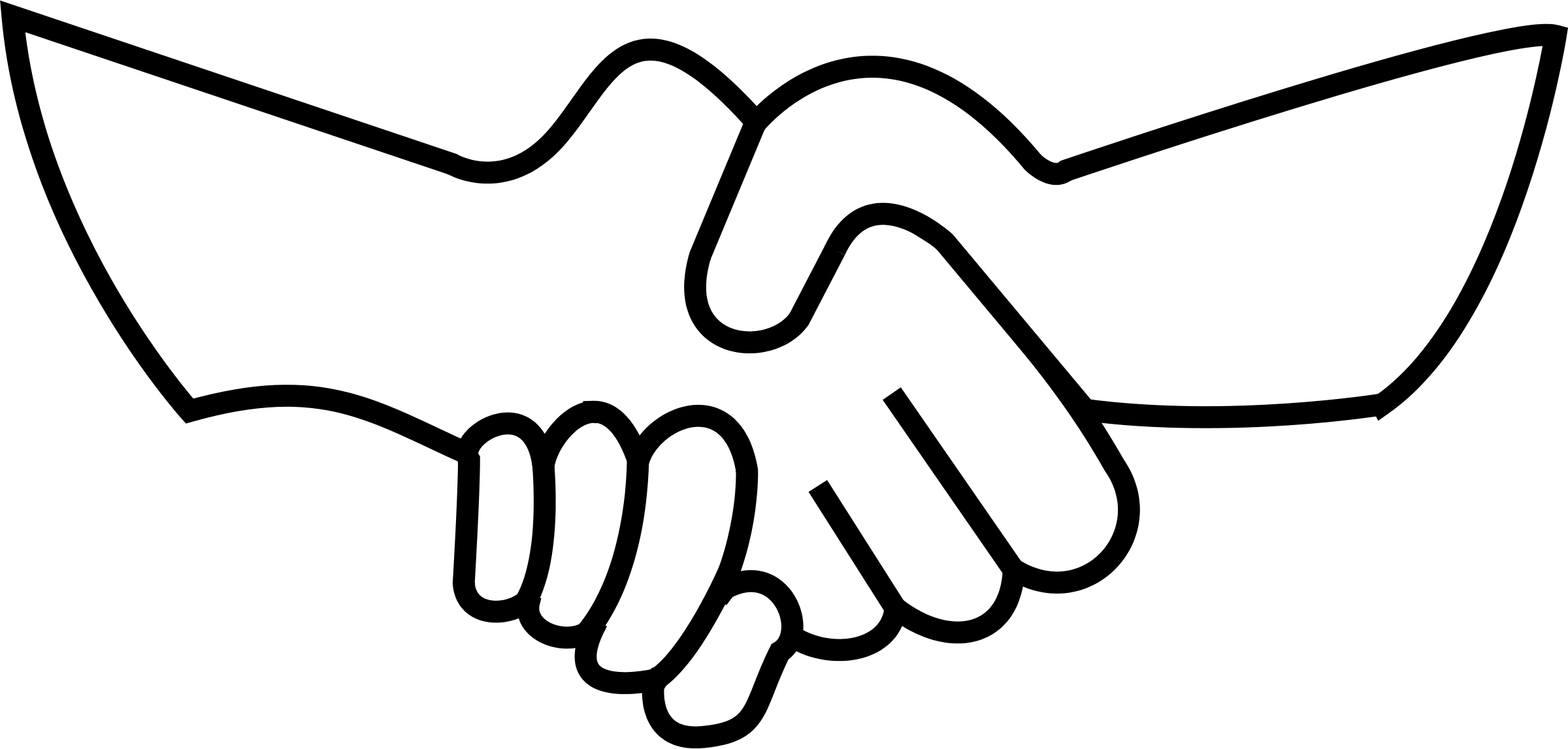 A hand holding a picture clipart
