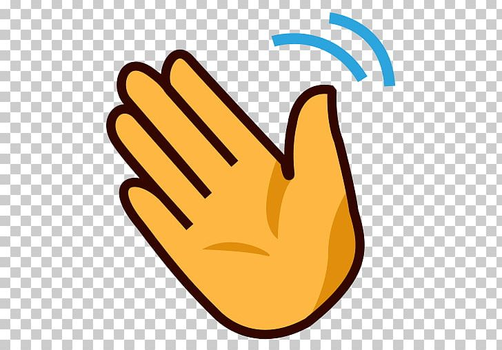 Library of a hand waving goodbye vector free download png ...