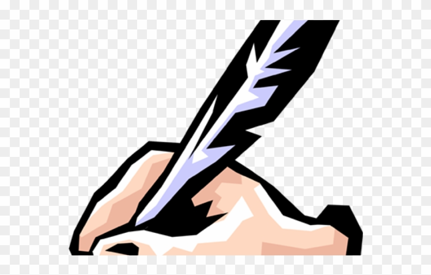 A hand writing clipart clip library Quill Clipart Hand Writing - Hand Writing Clipart - Png Download ... clip library