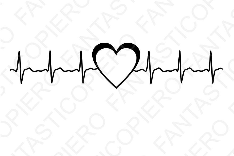 Heartbeat clipart images svg transparent download Heartbeat Wallpaper - Heart With Heartbeat Clipart (#318970) - HD ... svg transparent download