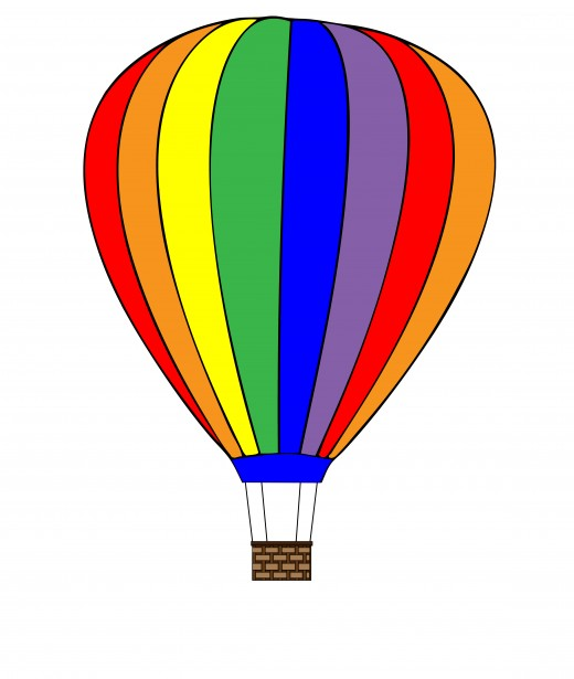Hot air balloon clipart clip art freeuse download Hot Air Balloon Clipart Free Stock Photo - Public Domain Pictures clip art freeuse download