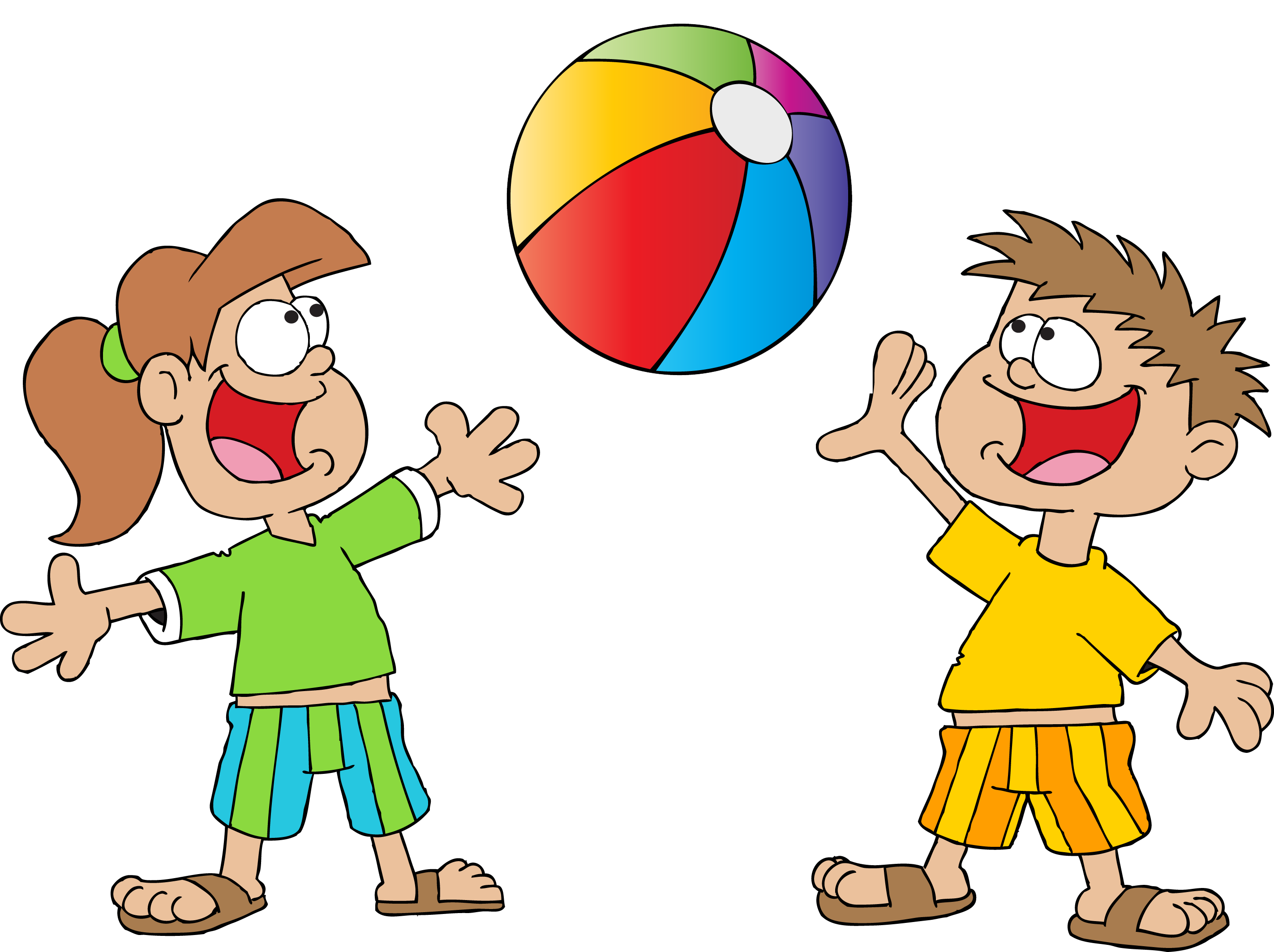 Kid having fun in the sun clipart banner free Fun ideas to do with the kids in the Summer - Froggle Parties banner free
