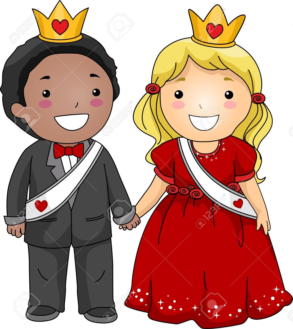 A king and queen clipart picture black and white King queen clipart 1 » Clipart Portal picture black and white