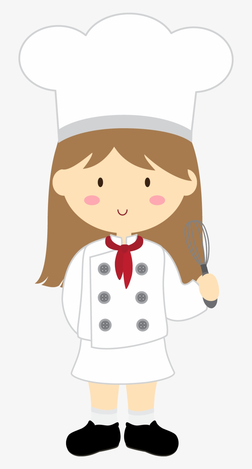A little girl in the kitchen with her mom clipart svg download Kitchen Clipart, Little Chef, Baking Party, Chefs, - Girl Chef Clip ... svg download