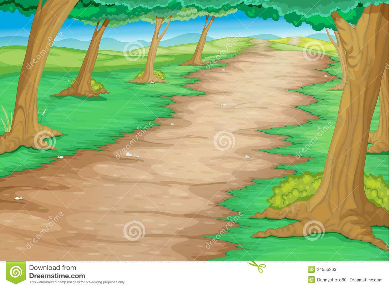 A long drit path clipart graphic free library Dirt path clipart 1 » Clipart Portal graphic free library