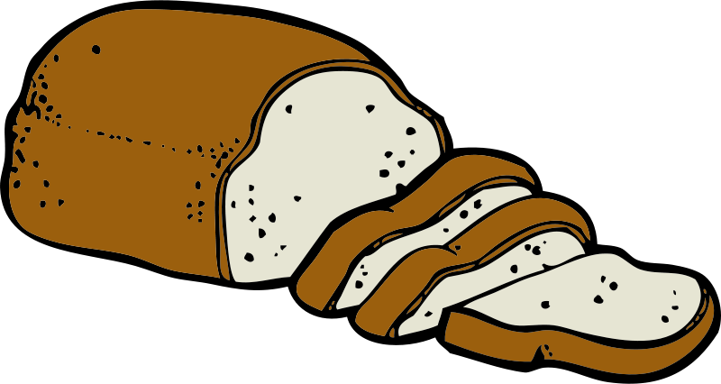 Free clipart loaf of bread. Johnny automatic