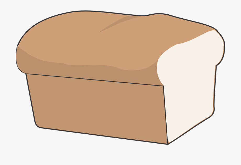 A loof of bread clipart jpg royalty free library Bread Loaf Cut White Isolated Baked Crust - Animated Loaf Of Bread ... jpg royalty free library