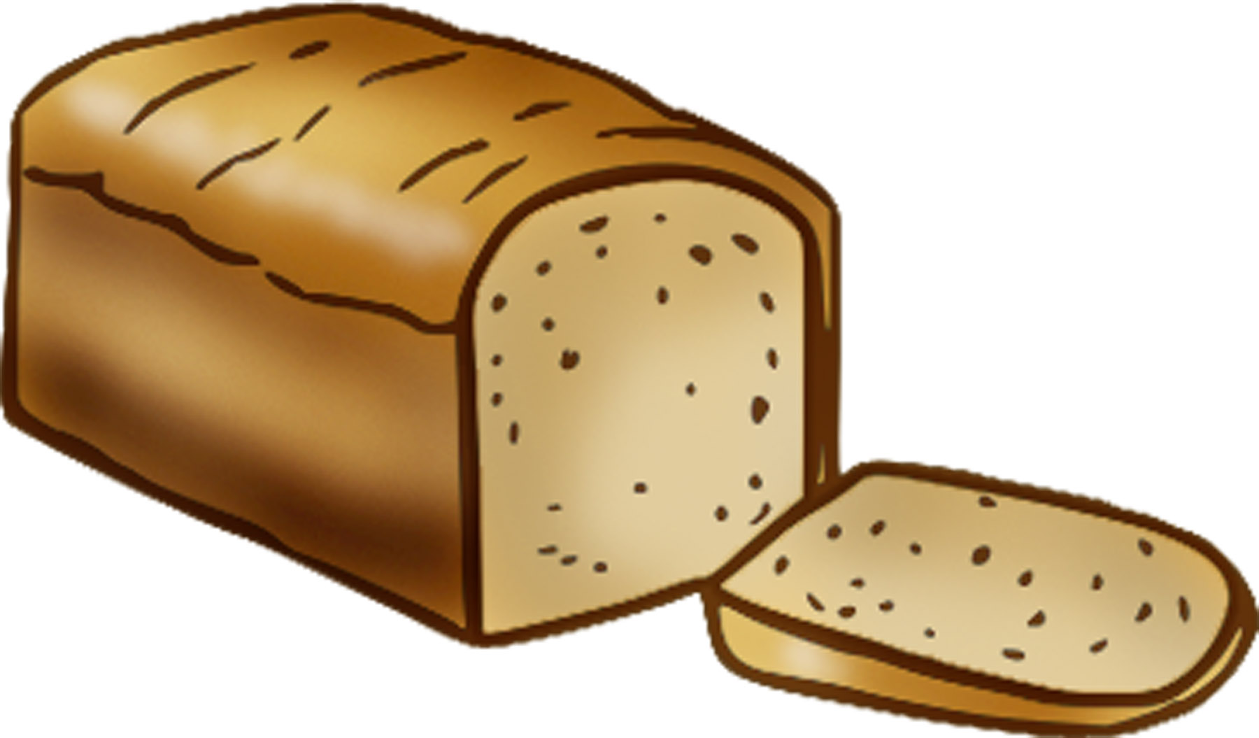 Download clip art on. Free clipart loaf of bread