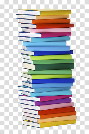 A lot of books clipart image library library Vintage ll, stacked assorted-title book lot transparent background ... image library library
