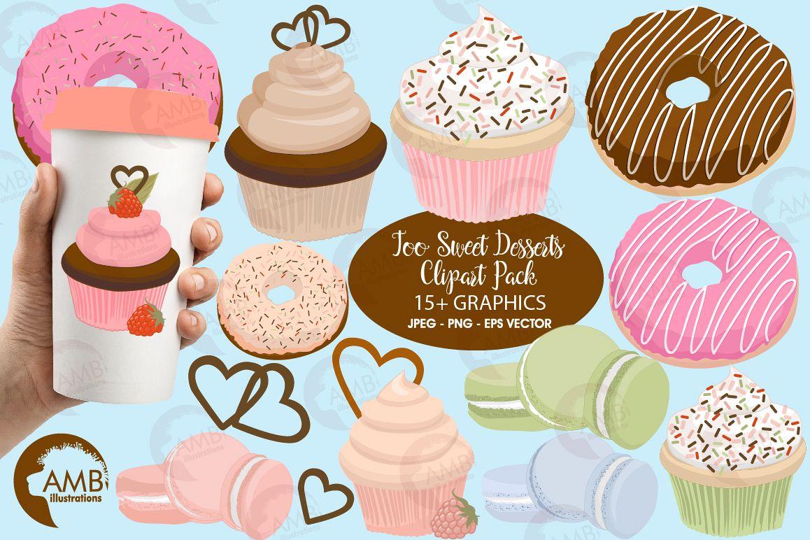 Sweet dessert clipart
