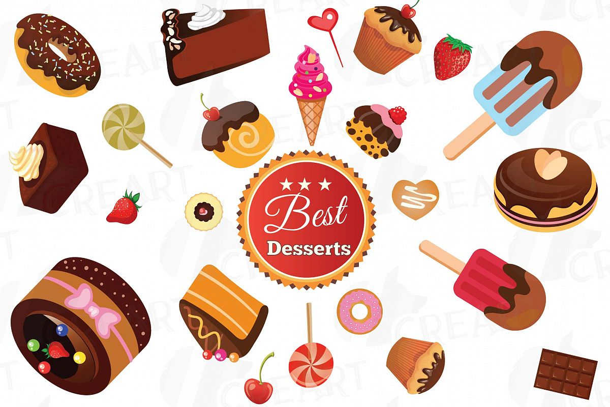 Desserts clipart png