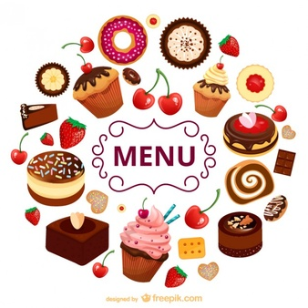 A lot of desserts clipart clipart transparent library Dessert Vectors, Photos and PSD files | Free Download clipart transparent library