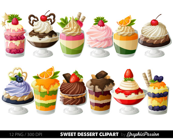A lot of desserts clipart clip royalty free download Desserts Digital Clipart Cake Clip art Sweet Treat Digital ... clip royalty free download