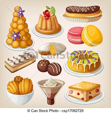 A lot of desserts clipart vector royalty free download french desserts clip art | Clipart Panda - Free Clipart Images vector royalty free download