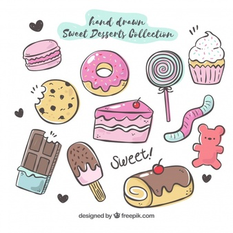 A lot of desserts clipart royalty free stock Dessert Vectors, Photos and PSD files | Free Download royalty free stock