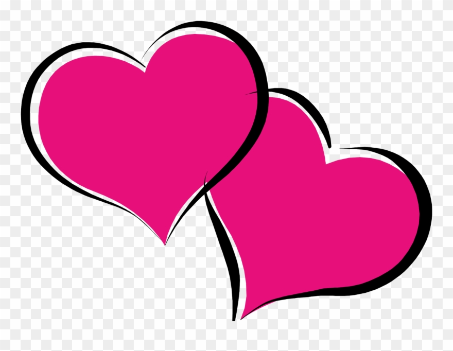 A love heart clipart vector library stock Pink Hearts Png - Love Heart Clipart Transparent Png (#943161 ... vector library stock