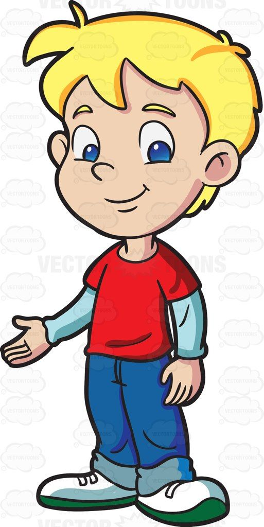 Welcoming person clipart freeuse A male kindergarten student looking cool and welcoming | Clip art ... freeuse