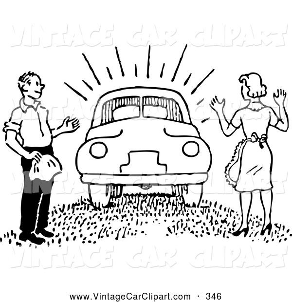 A man and a woman in a car clipart image black and white download A man and a woman in a car clipart - ClipartFest image black and white download