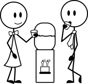 Men women figures download. A man and a woman talking clipart